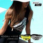 ケンダルアンドカイリーメッセンジャーバッグサコッシュウエストポーチカリーナ2020レディース女性婦人Kendall+KylieCARINA