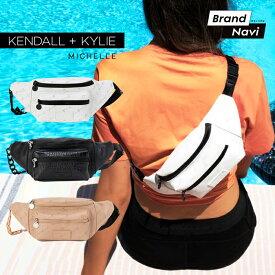 ケンダルアンドカイリー メッセンジャーバッグ サコッシュ ウエストポーチ ウェストバッグ ミシェル レディース 女性 婦人 Kendall+Kylie MICHELLE