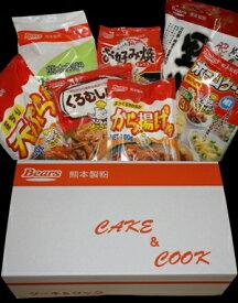 熊本製粉ケーキ&クック7点詰め合わせセット