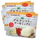 【送料無料】 グルテンフリー ケーキミックス プレーン 4個セット | 米粉 パンケーキ ケーキ スイーツ お菓子 アレル…