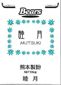 〔送料込〕【菓子用粉】睦月 10kg 熊本県産小麦使用 菓子用粉 業務用加工食品
