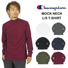 【送料無料】【2020秋冬新作】Champion チャンピオン モックネック長袖Tシャツ メンズ ロングスリーブ ロンT Mock Neck C3-S402 TC