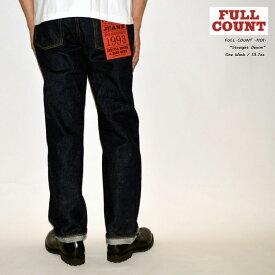 """FULLCOUNT フルカウント FULL COUNT""""1101"""" Straight Denimストレートデニム[ルーズストレート] [ライトオンス] [ヴィンテージ系色落ち]"""