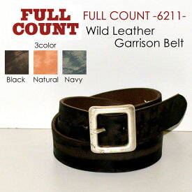 """FULLCOUNT フルカウント FULL COUNT""""6211""""ワイルドレザーギャリソンベルト【ベルト】"""