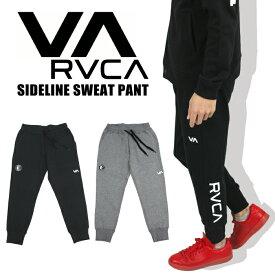 【送料無料】【2019秋冬新作】RVCA ルーカ ライン ルーカ スウェット ジョガー パンツ RVCA SPORT SIDELINE SWEAT PANT ロゴプリント メンズ スポーツ ジム AJ042-726