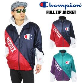 【SALE★69%OFF】Champion チャンピオン フルジップジャケット メンズ ライトアウター ジャージ トラックジャケット 速乾 C3-P602