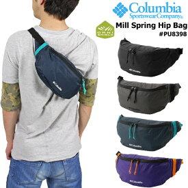 【SALE★10%OFF】Columbia コロンビア ミルスプリング ヒップバッグ PU8398 Mill Spring Hip Bag ボディ ウエスト ショルダー ななめ掛け メンズ レディース キッズ デイリー TC