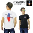 【2017新作】【対象商品2点購入で送料無料】ROIAL EMMAWOOD 半袖Tシャツ 全2色 メンズ ロイアル サーフボード サーフ …