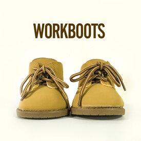ダッフィー・シェリーメイによく似合うワークブーツ カジュアルシューズ・靴