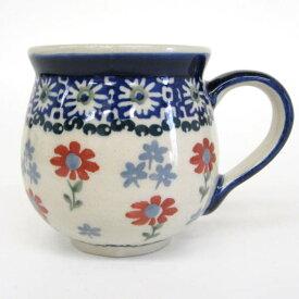 ポーリッシュポタリー ポーランド食器・陶器マグカップ 0.2L マニュファクトゥラ社 K67-P232ポーリッシュ・ポタリー poland食器 ポーランドしょっき