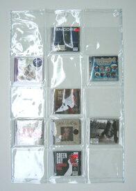 オールクリア 透明ウォールポケットCD15ポケット W-178