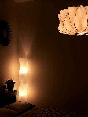 【送料無料】LEDリモコンフロアライトヴェレ[WELLE]【照明電気スタンド間接照明寝室ナイトライトスタンドライトフロアスタンドフロアランプ調光調色調光式ダイニング用食卓用リビング用居間用寝室北欧おしゃれ新生活】【インテリア】