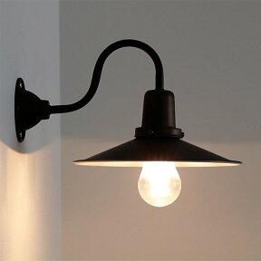ウォールライト1灯リヒトBBW-001【間接照明照明照明器具ブラケットライト壁掛け照明壁E26階段廊下寝室ブルックリンインダストリアルアンティークレトロ北欧おしゃれかわいいブラケットアイアン電球追加でリモコン付き】