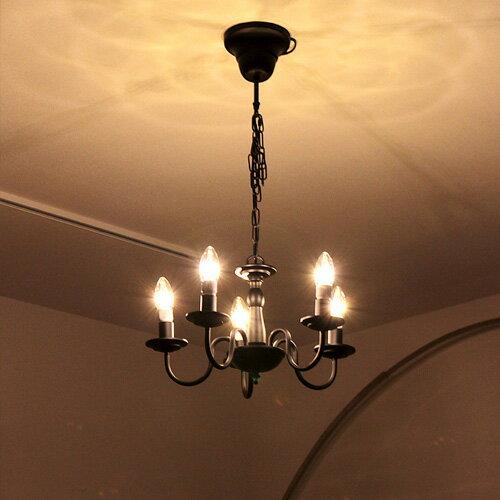 シャンデリア 5灯 Butler[バトラー]BeauBelle[ボーベル]シーリングライト 天井照明 照明器具 ダイニング用 食卓用 リビング用 居間用 アンティーク led シンプル おしゃれ かわいい 小型 ミニシャンデリア 内玄関 電気 ライト 新生活