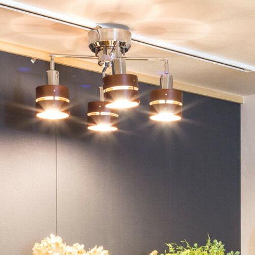 シーリングライト LED照明 スポットライト 4灯 レダカイ リモート[Leda X Remote]ボーベル|北欧 和室 天井照明 リモコン おしゃれ ダイニング用 食卓用 リビング用 居間用 照明器具 電気 ライト 調光 スポット シーリング インテリア