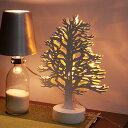テーブルランプ LED ツリー[LED Tree]|デスクライト スタンドライト 間接照明 寝室 テーブルライト ウッド 木 テーブルランプ インテリア照明 ラ...