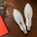 LED電球 E17 40W相当 シャンデリア球【LED-036】電球色 クリア フロスト 483lm 469lm LED 口金 e17 17mm 長寿命 照明器...