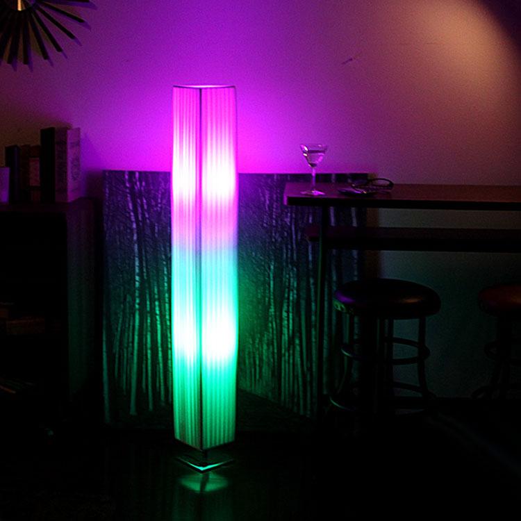 【送料無料】フロアライト PEシェードランプ PULECT COCKTAIL(プレクト カクテル) |間接照明 寝室 フロアランプ 電気 led リモコン 調光 調色 おしゃれ 北欧 インテリア 照明器具 フロア リビング用 居間用 フロアスタンド スタンド スタンドライト