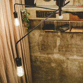 1500円クーポン利用可★シーリングライト 3灯 ナロスト[NAROST CEILING LIGHT]LT-1654 インターフォルム[interform] インテリア 間接照明 E26 led スチール レトロ 北欧 寝室 おしゃれ かわいい インテリア 照明器具 天井照明 ライト 電気 シーリング リビング用 居間用