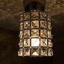 シーリングライト 1灯 小型シーリングライト GEM-6914 キシマ KISHIMA|インテリア シーリングランプ 間接照明 E17 led 対応 ガラス レトロ 北欧 おしゃれ かわいい 照明器具 天井照明 ライト 電気 内玄関 廊下 トイレ 寝室 リビング用 居間用 子供部屋