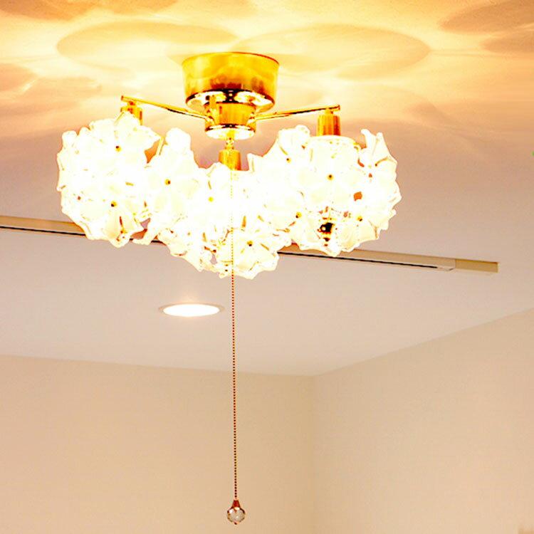 照明 LED 対応 シーリングライト 3灯 ブーケ|ライト シーリング インテリア照明 天井照明 キッチン 階段 内玄関 照明器具 北欧 おしゃれ アンティーク レトロ ダイニング用 食卓用 インテリア 居間用 電気 寝室 リビング用
