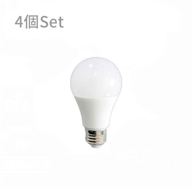 【LED電球 850lm 昼白色 5000K 4球セット】
