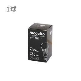 【調光調色LED電球 ラコルト 400-450lm E17 1球】