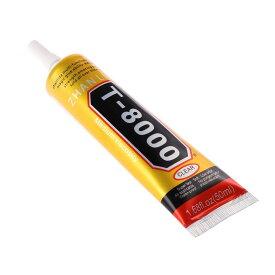 送料無料 T-8000 50ml ハンドメイド用 超強力接着剤 レジン ネイル 多目的 オルゴナイト