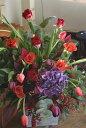 誕生日 ビジネス 開業祝い 開店 オープン 歓迎・退職用・移転祝い などに 季節のお花を使って、ご指定日にお届けいたします !! 画像サ…