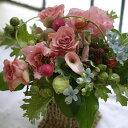 敬老の日 誕生日 プレゼント 女性 季節の花でおまかせ アレンジメント 開店 オープン 結婚記念日 お祝い フラワー お見舞い 退職 送別 …