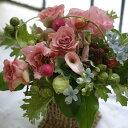 誕生日 プレゼント 女性 季節の花でおまかせアレンジメント 開店 オープン 結婚記念日 お祝い フラワー お見舞い 退職 送別 花 ピンク …