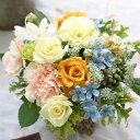 誕生日 プレゼント 女性 季節の花でおまかせアレンジメント 開店 オープン 結婚記念日 お祝い フラワー お見舞い 退職 送別 花 黄 イエ…