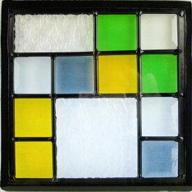 ステンド グラス ステンドグラス ステンドガラス デザインパネルsgsq213
