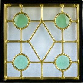 ステンド グラス ステンドグラス ステンドガラス デザインパネルsgsq217