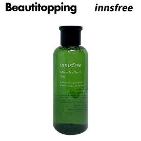 【INNISFREE】イニスフリー GREEN TEA SEED SKIN グリーンティーシード スキン 200ml スキンケア 基礎化粧品 化粧水 韓国コスメ