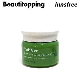【INNISFREE】イニスフリー GREEN TEA SEED グリーンティーシード バランシングクリーム EX スキンケア 基礎化粧品 韓国コスメ