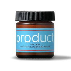 [楽天スーパーセール 特別価格] ザ プロダクト オーガニック ヘアワックス 1個 42g product Hair Wax 国内正規品