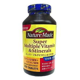 ネイチャーメイド スーパーマルチビタミン&ミネラル 300粒 Costco コストコ