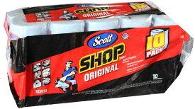 送料無料 Scott SHOP TOWELS 『スコット カー ショップタオル』 10個 55枚x10本 10ロール ペーパーウエス ペーパータオル 業務用 カー用品 多目的 万能 カーショップタオル 10巻 スコットタオル カーショップ コストコ 通販