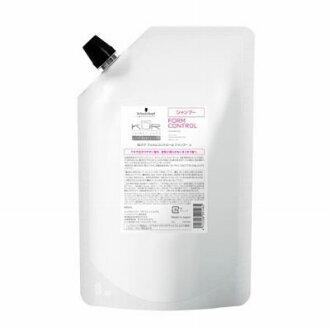 600 ml of Schwarzkopf BC クアフォルムコントロールシャンプー a refills