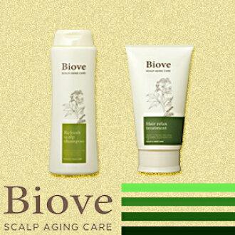 戴米Biove(biobu)rifuresshusukyarupushampu&H处理安排(250ml/240g)