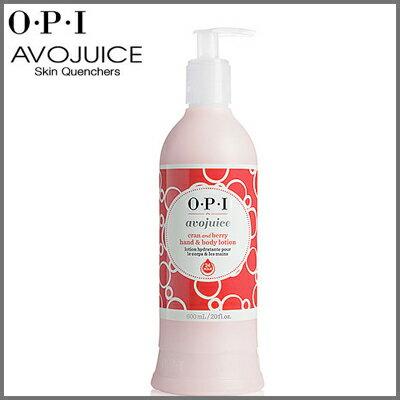 OPI アボジュース ハンド&ボディローション クラン&ベリー 600ml