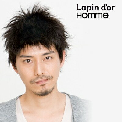 Lapin d'or Homme(ラパンドアール・オム)デザインショート スタンダードブラック 【送料無料】