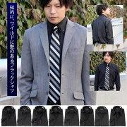 カラーステッチ・ドゥエボットーニ・ボタンダウンシャツ3枚セット・ブラック