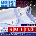メンズ クレリック 半袖 ワイシャツ yシャツ カッターシャツ ドレスシャツ ボタンダウン s- 大きいサイズ 3l ブルー 白 ブルー 青 水色 ストライプ ...