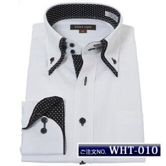 69ff452cbcf3 Shirt long sleeve high collar design shirt shirt big size black white white  black y shirt