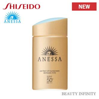 Shiseido アネッサ (ANESSA) perfect UV skin care milk SPF50+, PA++++ (60 ml) sunscreen