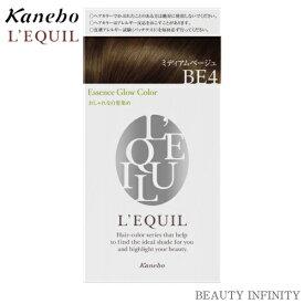 【 72時間限定 P3倍 エントリー 】 カネボウ kanebo リクイール L'EQUIL エッセンスグローカラー BE4 ミディアムベージュ / ヘアカラー 白髪染め おしゃれ 市販 白髪 目立たない カラー おすすめ 人気 女性