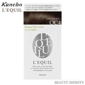 【 72時間限定 P3倍 エントリー 】 カネボウ kanebo リクイール L'EQUIL エッセンスグローカラー OC4 ミディアムブラウン / ヘアカラー 白髪染め おしゃれ 市販 白髪 目立たない カラー おすすめ 人気 女性
