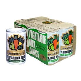 ミリオンの国産緑黄色野菜ジュース 160g (6本セット) / 無臭ニンニクエキス入り 無添加 健康 美容 ジュース【10P29Jul16】